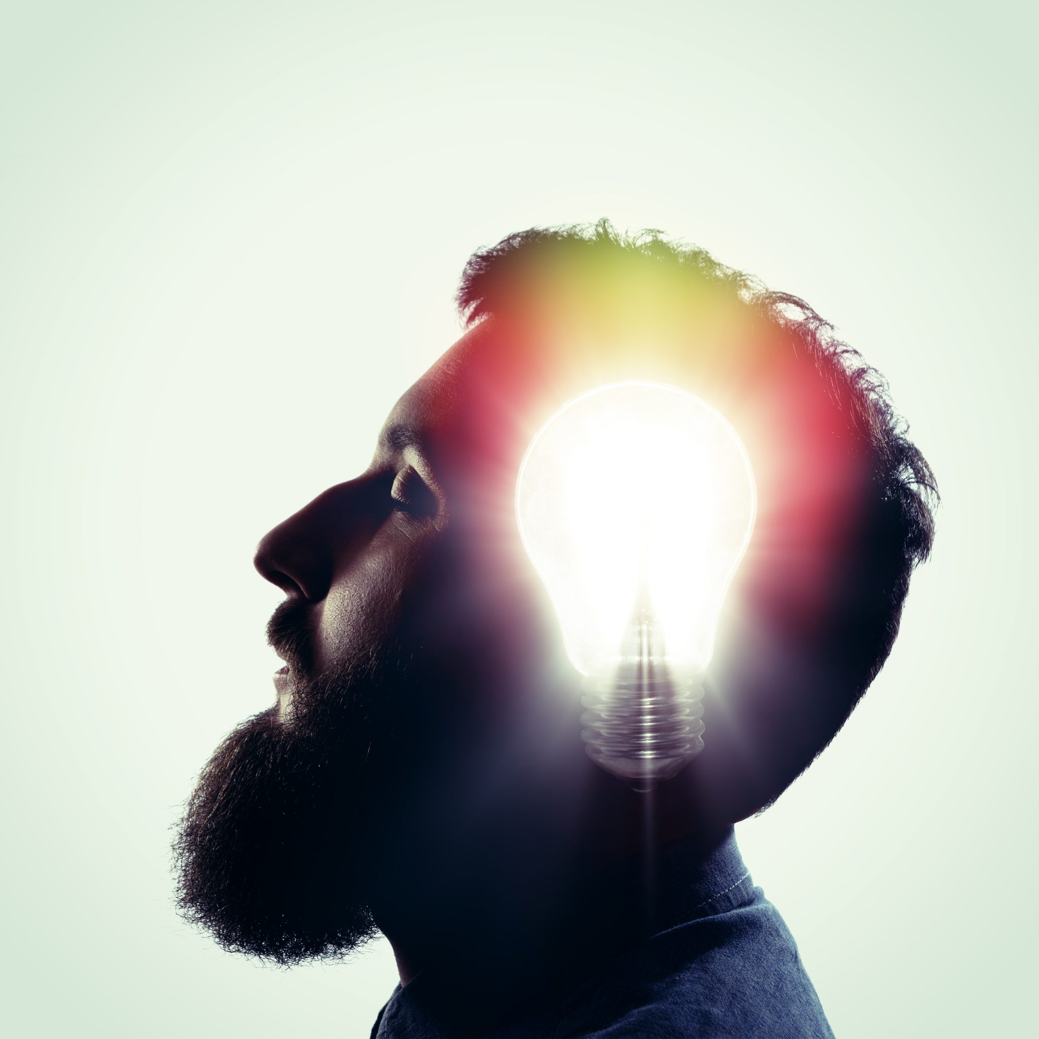The concept of a new idea.