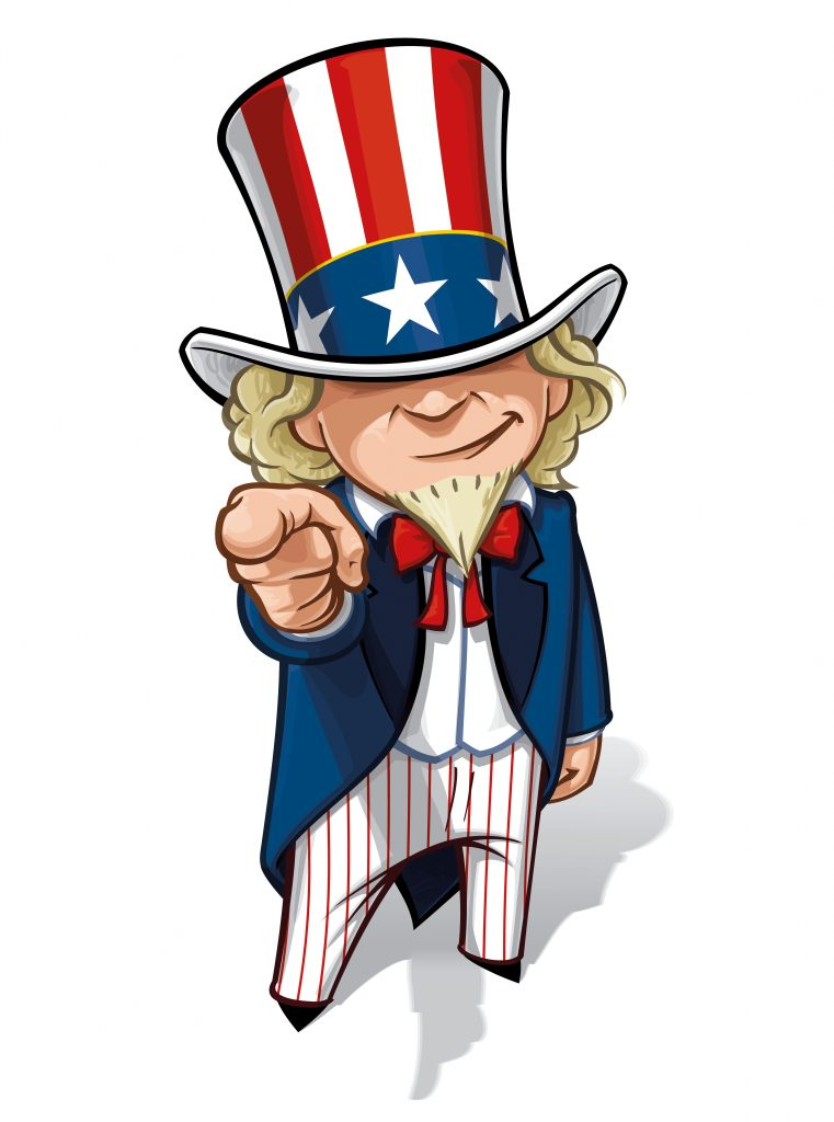 political uncle sam